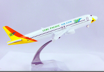 16cm 1:400 CEBU PACIFIC Airplane Aeroplane Diecast Metal Plane Toy Model