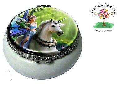 Anne Stokes Realm of Enchantment - miniature pill box