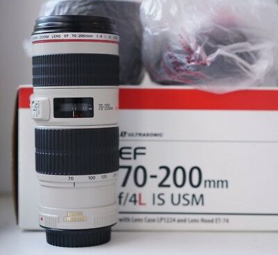 Canon EF 70-200mm f/4L IS USM New