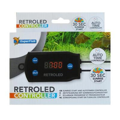 Superfish RETRO LED CONTROLLER Automatic Auto Timer Lighting Aquarium Remote