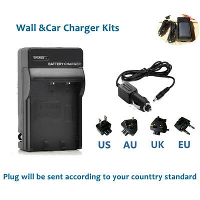 Battery Charger For CANON CB-2LWE NB-2L NB-2LH POWERSHOT G7 G9 G-7 camera