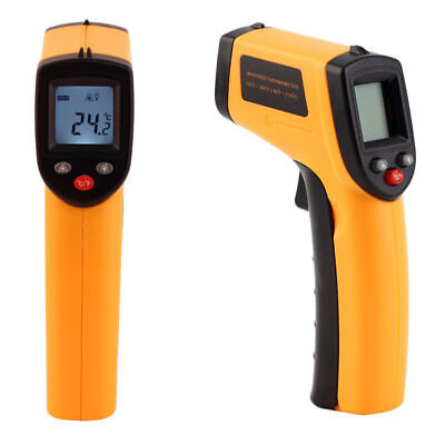 Portable Digital Laser Thermometer Non-Contact IR Infrared Temperature Tool LCD