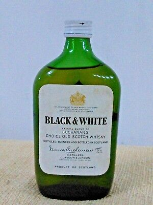 Vintage Black & White   Special Blend  Scotch Whisky   Cc 400  Scotland