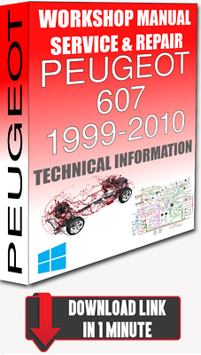 service workshop manual & repair peugeot 607 1999-2010 +wiring | for  download