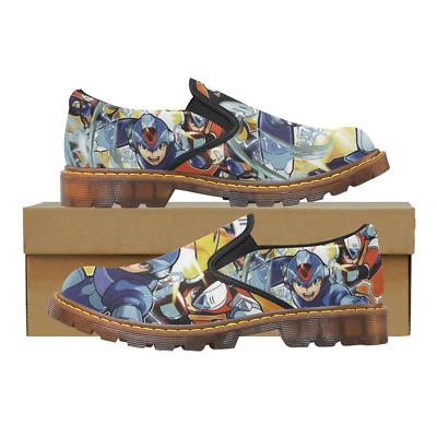 Custom Womens Slip On Loafer Megaman Shoes Comfy Ladies Casual Flats