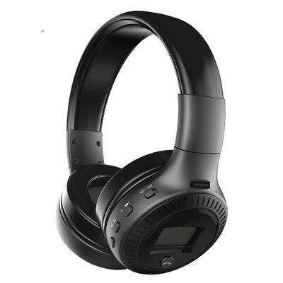 Bluetooth Wireless Headset Foldable HiFi Stereo Bass Headphone Mic For PC Laptop