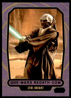 Star Wars Galactic Files 2 Blue Parallel Base Card #557 Teek Cartes non sportives Collections