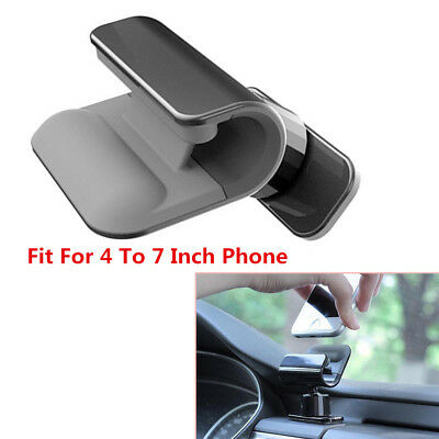 Autos Interior Gravity Car Phone Holder 4-7 Inch Mounts Stand For iPhone Samsung