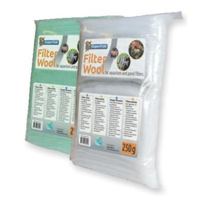 Superfish Aquarium Pond FILTER WOOL Fine Coarse Green White Textured Media