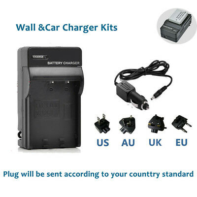 NB-10L Battery Charger Kits for Canon PowerShot G15 G16 SX50 SX60 HS CB-2LCE