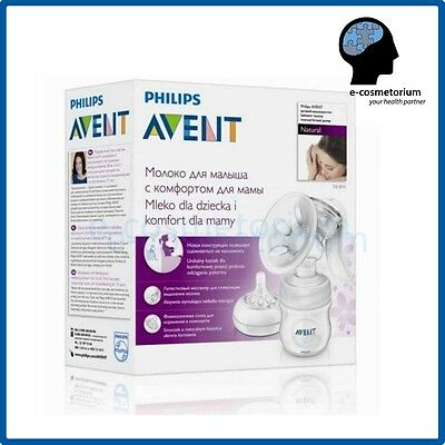 Philips AVENT SCF330/20 Manual Natural Breast Pump FREE FAST REGISTERED Shipping