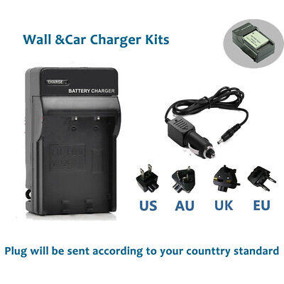 NB-4L Battery Charger Kits for CANON IXUS IS 60 65 70 75 80 100 120 220 230 HS