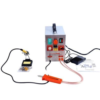 2 in 1 1.9KW Pulse Spot Welder 709A Battery Welding Soldering Machine AC 110 V