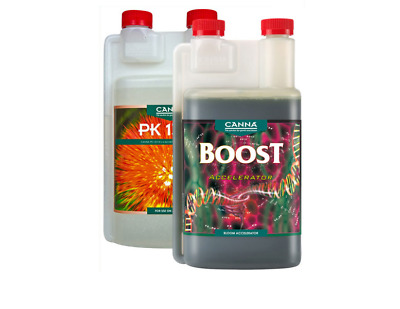 Canna Boost Accelerator & PK 13-14 250ML 1L Hydroponic Growing Additives