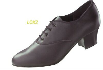 Freed oxford Cuban heel LOX2 tap shoe size UK 8.5