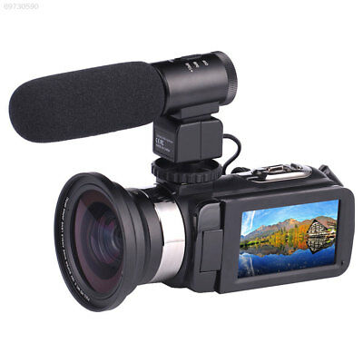 WiFi 4K HD 12MP 16X ZOOM Night Vision DV Digital Video Camera Camcorder DV US