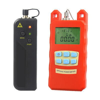 -70dBm~+10dBm Optical Fiber Power Meter Tester & 10mW Visual Fault Locator