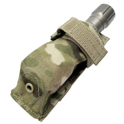 CONDOR Flashlight Tool Knife Pouch Holster PALS Belt Carabiner MultiCam