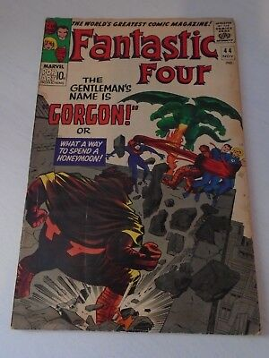 FANTASTIC FOUR #44 1965 - first appearance of GORGON 3.0 good