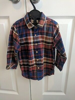 Boys Shirt, Checked 18-24 Months Next
