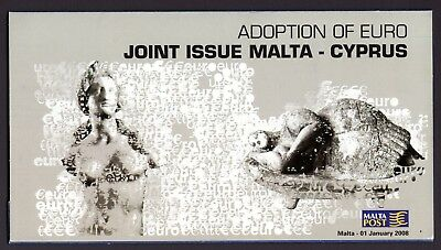 Malta 2008 Joint issue with Cyprus Souvenir Folder SG1585 First Day Cover FDC