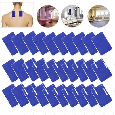 "Replacement Tens Electrode Pads EMS for Units 7000 3000 2x3.5"" Blue Cloth LOT FA"