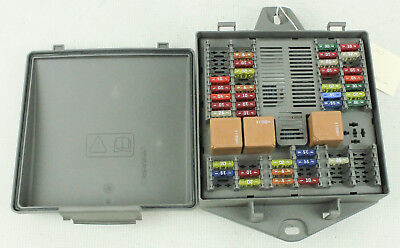 2004-2007 jaguar xj8 vanden plas 4 2l rear interior fuse box 2w93-14n023