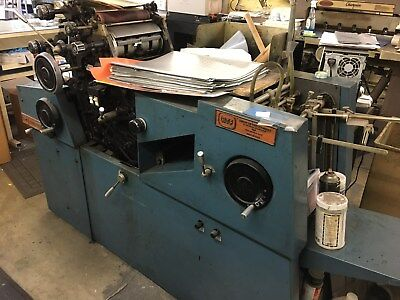 offset printing press CHIEF 15 ONE COLOR in good working conditions
