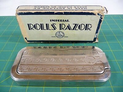 Imperial Rolls Razor Lee Schiffer No 2 Face Shaving Tool Sheffield England Steel