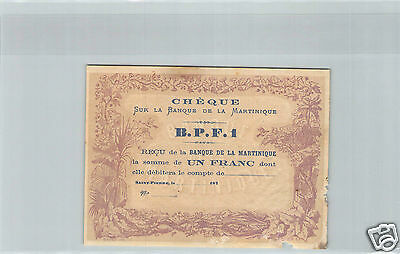 Martinique 100 Franken 1942 Selten J52 748-1283748 Martinique