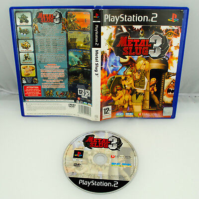 Jeu METAL SLUG 3 sur Playstation 2 PS2 CD REMIS A NEUF version PAL VF