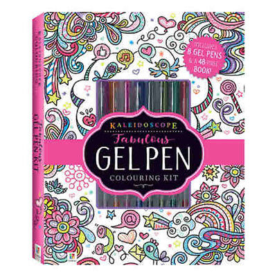 Kaleidoscope Fabulous Gel Pen Colouring Kit