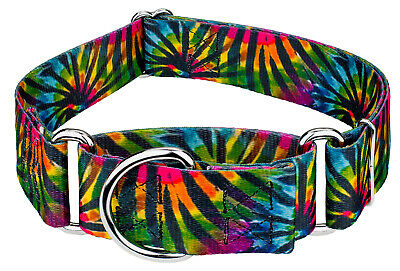 Country Brook Petz® 1 1/2 Inch Martingale Dog Collar - Groovy Collection