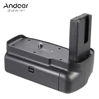 Andoer BG-2F Vertical Battery Grip Holder for Nikon D3100 D3200 D3300 DSLR K7J9