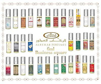 Al Rehab 6ml Véritable Attar Parfum Sans Alcool Musk Oud Roll on Haute Qualité