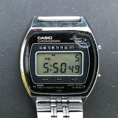 Rare & Vintage CASIO 110QS-37 Quartz LC Digital Watch JAPAN N - New Battery