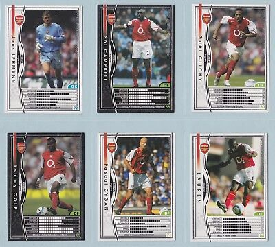 Football Cards - WCCF European Clubs 2004-2005 (Panini) - Select a Team Set