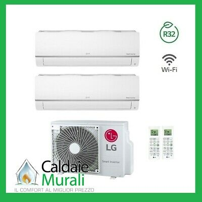 Conditionneur D'Air LG Inverseur Loisirs Plus R-32 7000+ 9000 Con Mu2r15 7+9