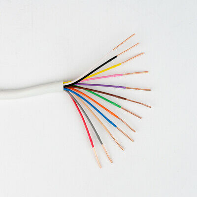 Honeywell Genesis 18/12 Thermostat Wire 250' Roll 4719 18 AWG 12 Solid Conductor