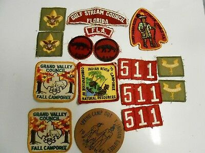 Boy Scout Patches BSA scouting Cub Scouts Girl Scouts Jamboree Webeloes Honor