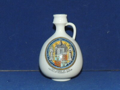 goss china jug  THE LORDS OF ROMNEY MARSH  crest