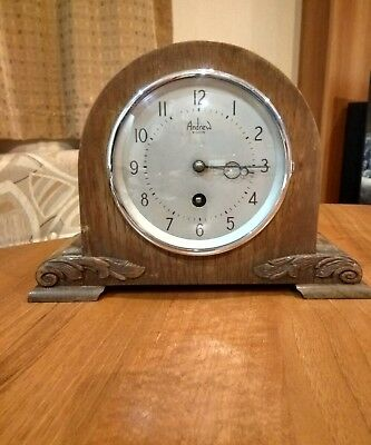 Andrew 8 Day Mantel Clock