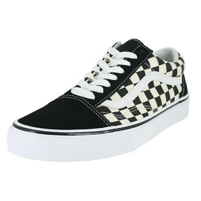 18d453bc6e3a8c VANS OLD SKOOL Primary Checkerboard Racing Red off White Check Skate ...