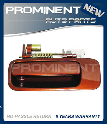 Door Outside Handle  Vintage Red Pearl Rear Left For 97-01 Toyota Camry