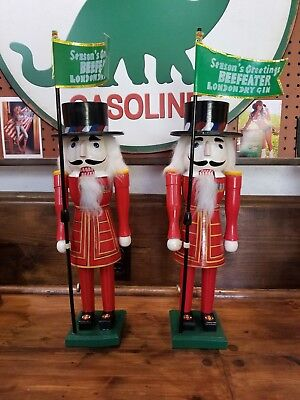 Beefeater Whiskey Nutcrackers