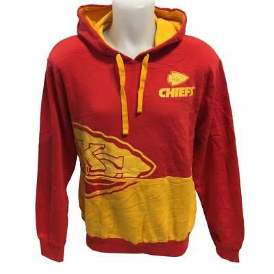 fedd03ee57c NFL Men s New Kansas City Chiefs Hoody Sweatshirt Medium-2X Hoodie Big Logo  Red