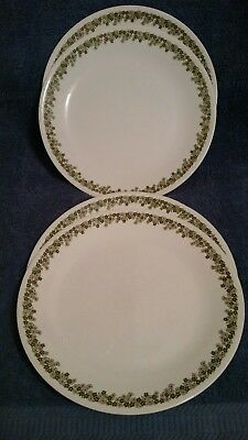 Vintage Corelle- Crazy Daisy/Spring Blossom Replacement Dinner Plates 10 1/4""