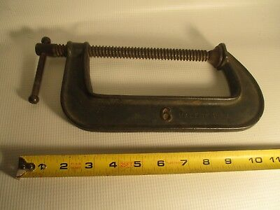 Tools Large Heavy Duty Wood or Metal Clamp Vintage