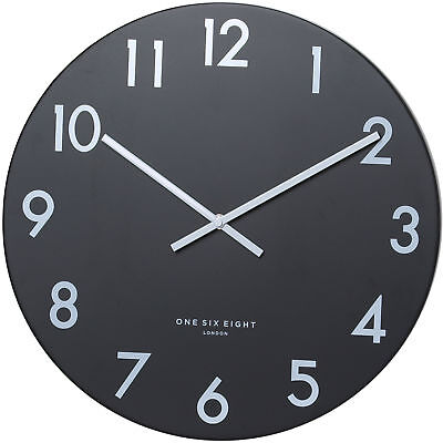 NEW Black Jackson Silent Wall Clock - OneSixEightLondon,Clocks