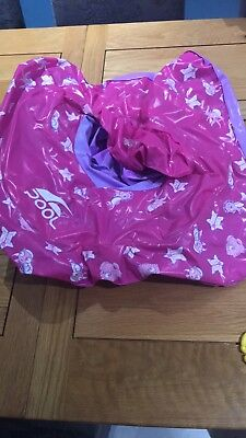 baby inflatable swim seat Pink 0-12 Months